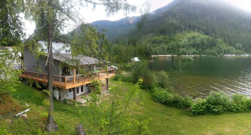 Top Hat Terrace Vacation Rental from high point on property - Revelstoke, BC - Top Hat Terrace Vacation Rental - Revelstoke - rentals