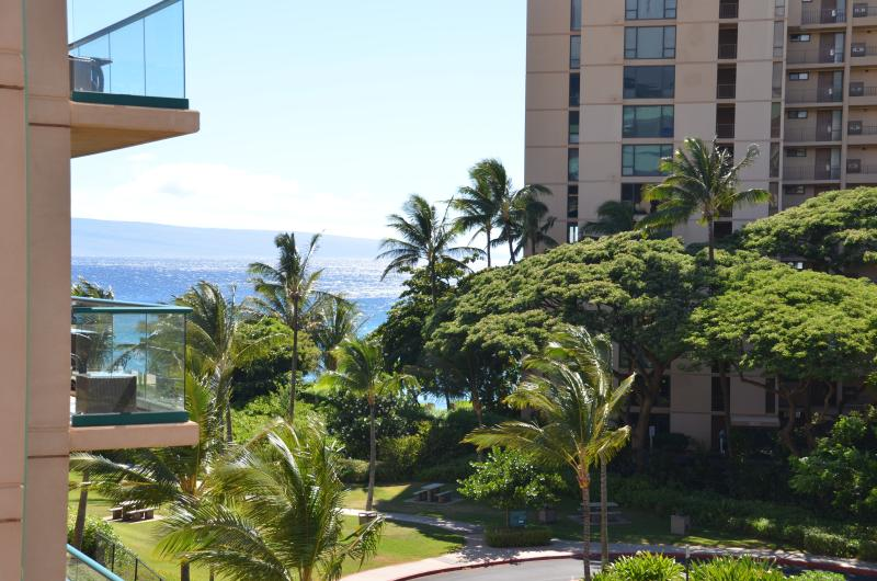 Some Ocean views from the lanai - 1 Bed and Den! Like a 2 Bedroom - Ka'anapali - rentals