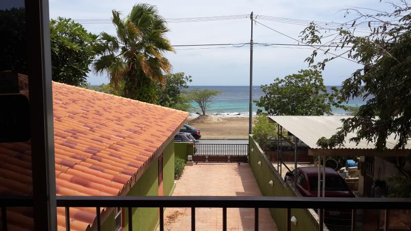 Balcony view from studio - Rated 9.1 Studio with Sea View!!! - Willemstad - rentals