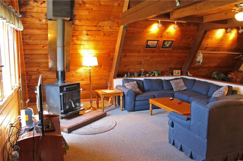 Located at Base of Powderhorn Mtn in the Western Upper Peninsula, An Intimate A-Frame Home with Free-Standing Fireplace - Image 1 - Ironwood - rentals