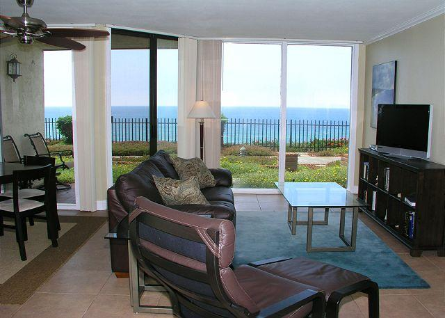 View From Living Room - 1 Bedroom, 1 Bathroom Vacation Rental in Solana Beach - (DMST11) - Solana Beach - rentals