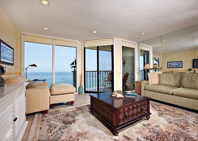 Living room - 1 Bedroom, 1 Bathroom Vacation Rental in Solana Beach - (DMST32) - Solana Beach - rentals