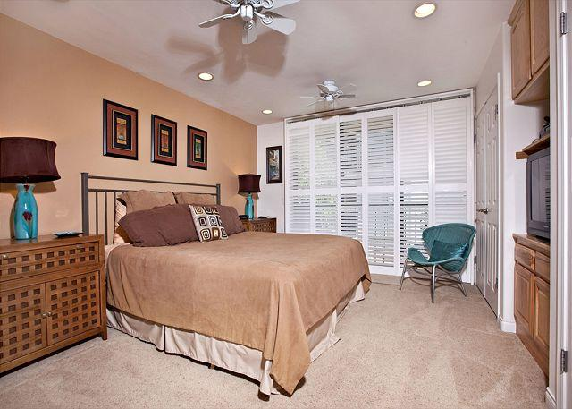 Bedroom - 1 Bedroom, 1 Bathroom Vacation Rental in Solana Beach - (DMST32) - Solana Beach - rentals