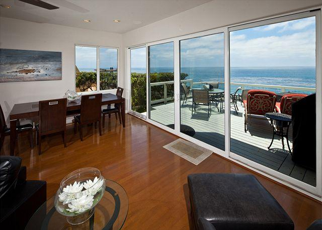 Oceanfront view - 3 Bedroom, 3 Bathroom Vacation Rental in Encinitas - (ENC656NEP) - Solana Beach - rentals