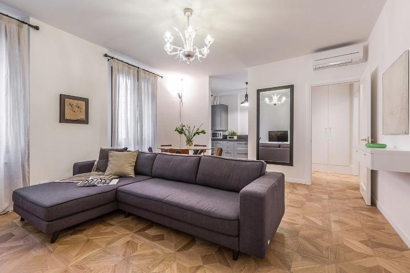 the Aida apartment living room: style and comfort guaranteed - Aida - Venice - rentals