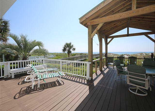 Madras House- Premier home with breathtaking views-fabulous oceanfront decks - Image 1 - Wrightsville Beach - rentals