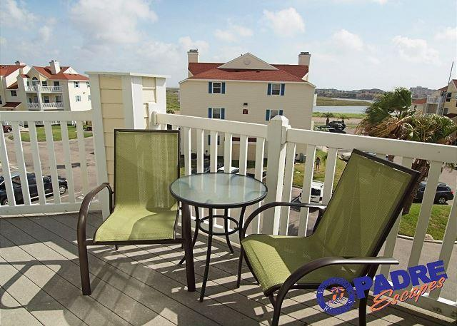 Balcony with a view - Enjoy the view from this beautiful 3rd floor condo! - Corpus Christi - rentals