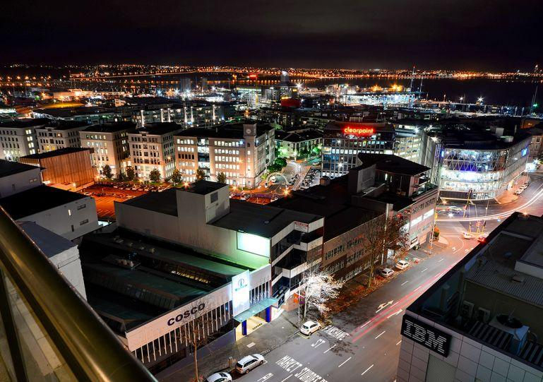 Amazing views from this 7th floor apartment both at night - GH110499 - Auckland - rentals