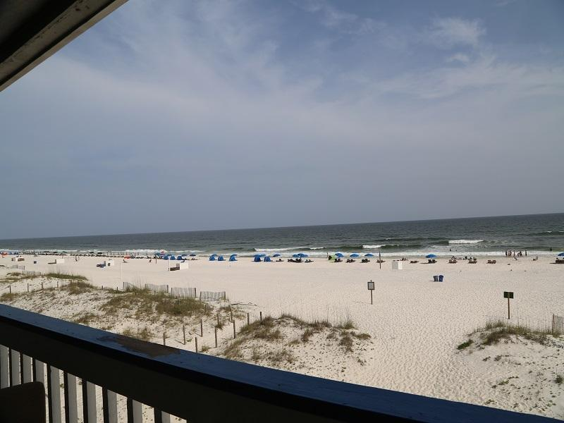 View from private balcony - Regatta 205B - Gulf Shores - rentals
