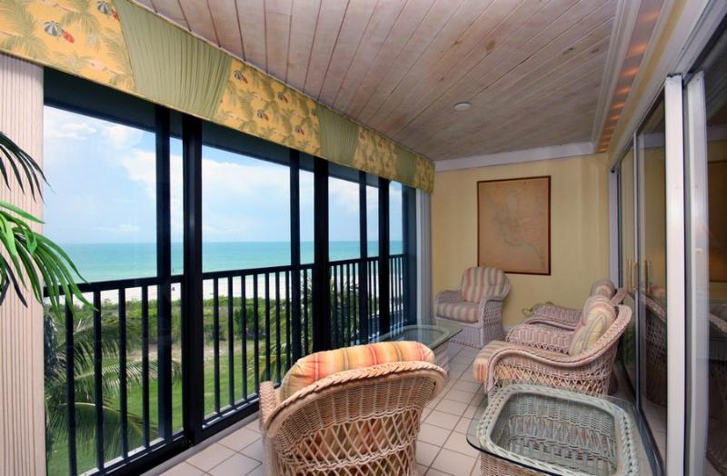 Glass Enclosed Lanai - Loggerhead Cay 134 - Sanibel Island - rentals