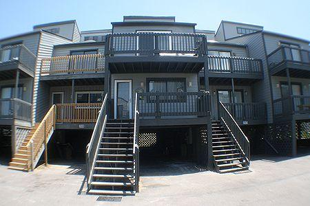 218 Shipwatch Townhomes Front - Shipwatch Townhomes II 218 - North Topsail Beach - rentals
