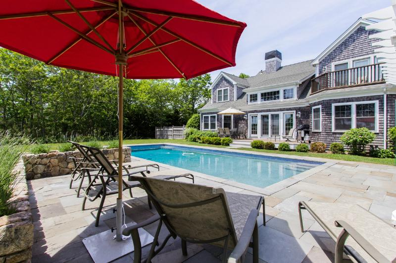 CASED - Deep Bottom Pond, Private Heated Pool, Central Air, WiFi, Gorgeous Views - Image 1 - West Tisbury - rentals