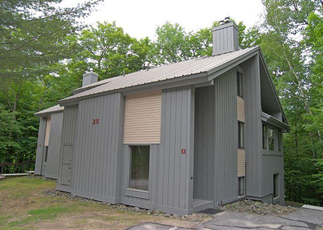 Exterior of Unit - Clearbrook 3W - Managed by Loon Reservation Service - Lincoln - rentals