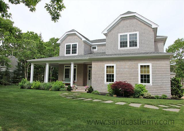 Beautiful Six Bedroom Edgartown Home with Pool - Image 1 - Edgartown - rentals