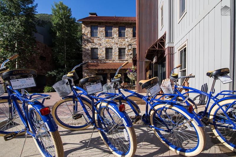 Did someone say bicycles? Take a ride around town on these babies! - Luxury condos with chauffeur, kids club & private bar! 2 block walk to Gondola! - The River Club 3BR Residence - Telluride - rentals