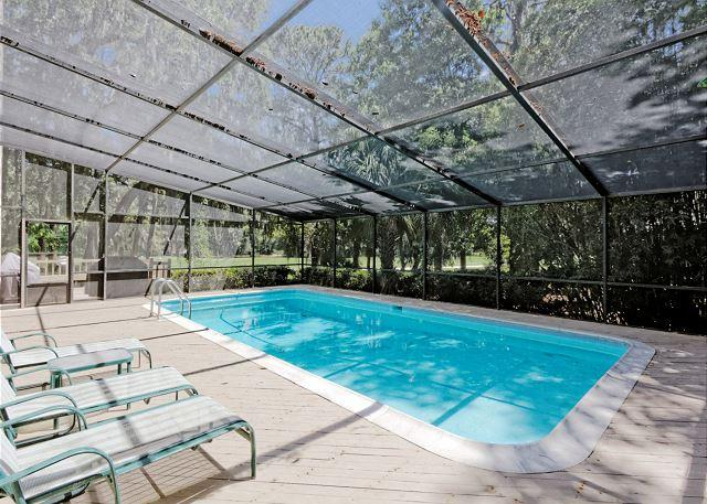 Planters Wood 24 - Planters Wood 24, 5 Bedroom, Private Heated Pool, Lanai, Golf View, Sleeps 10 - Hilton Head - rentals
