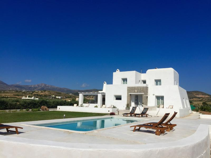 Villa Aria with private pool next to Naoussa - Image 1 - Naoussa - rentals