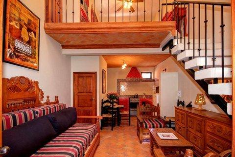 The Salma Hayek One Bedroom Loft - main level view - The Actors Studios: Salma Hayek, 1 bdr CENTRO! - San Miguel de Allende - rentals