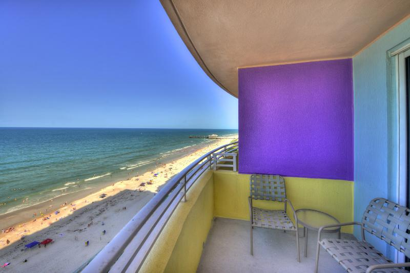 Ocean Walk Resort - View from Oceanfront Balcony - Wyndham Ocean Walk - Summer 2/2 Deluxe $1995/week - Daytona Beach - rentals