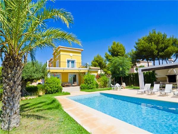 5 bedroom Villa in Calpe, Costa Blanca, Calpe, Spain : ref 2234968 - Image 1 - Calpe - rentals