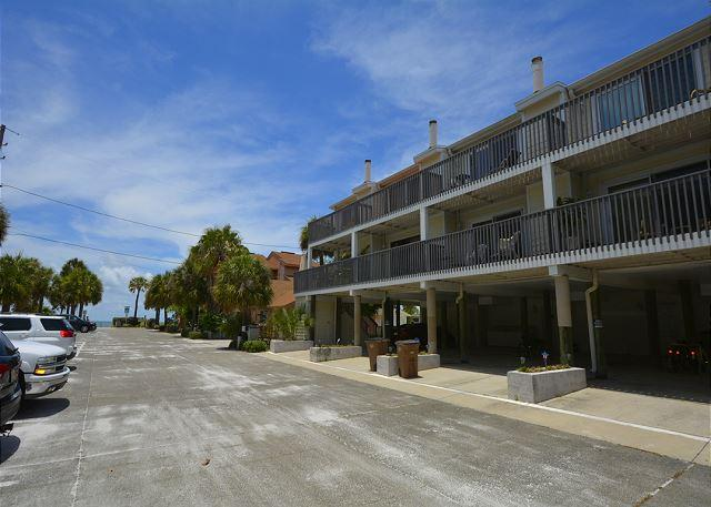 Exterior Front - Steps to the beautiful sandy shores of Indian Rocks Beach - Indian Rocks Beach - rentals