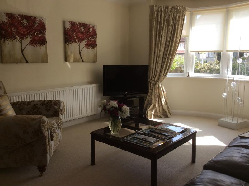 sitting room - Luxury Ground Fl.2 bed.patio garden near the Sea. - Morecambe - rentals