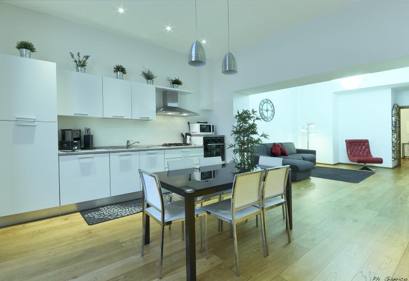 Kitchen - Loft  Castaldi - Milan - rentals