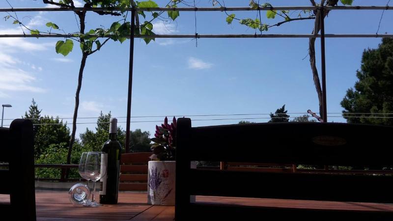 A1(4+1): terrace - 00313MAKA A1(4+1) - Makarska - Makarska - rentals