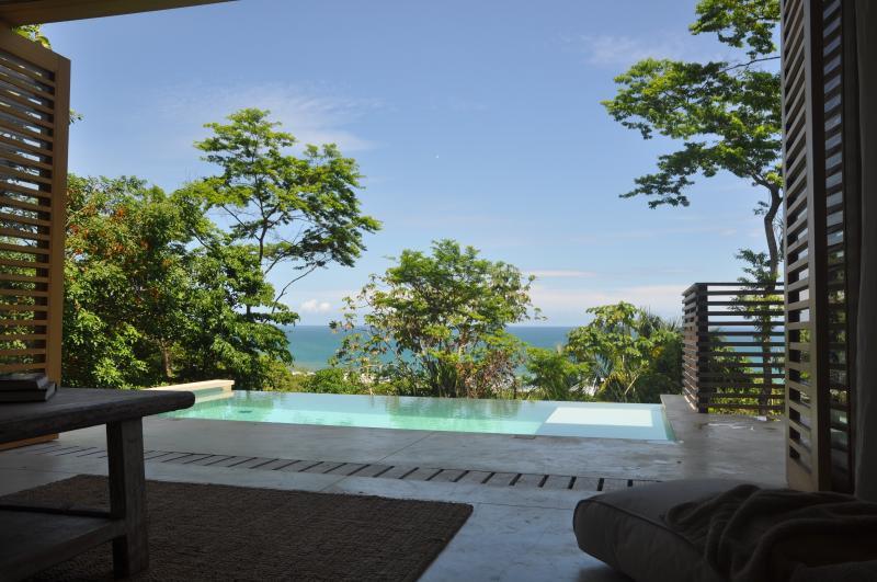 Villa Nicholson, view from the living room - Villa 'Nicholson' with breathtaking ocean view - Santa Teresa - rentals