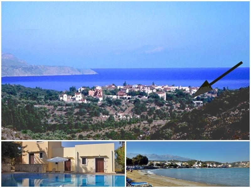 place and location - Studio in traditional village close to beaches - Chania - rentals