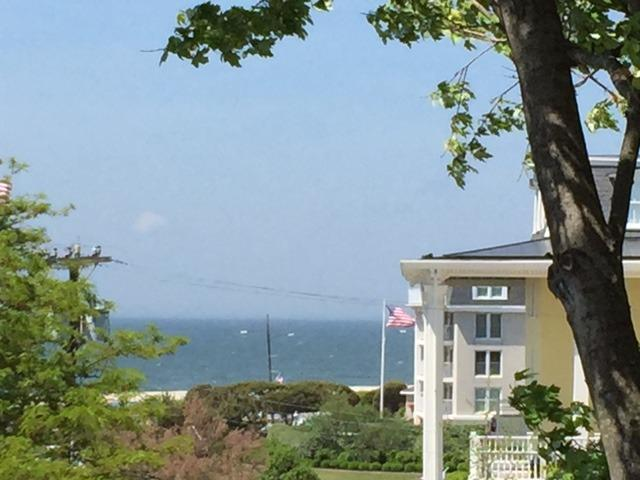 Beautiful ocean views from the Private Roof Deck of The Cape May Holly Suite - Historic Jackson Street just 1/2 Block to Beach with Roof Deck w/Ocean Views - Cape May - rentals