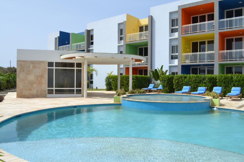 Pool Area - 3BD - Isla Bonita - Near Eagle Beach - Oranjestad - rentals