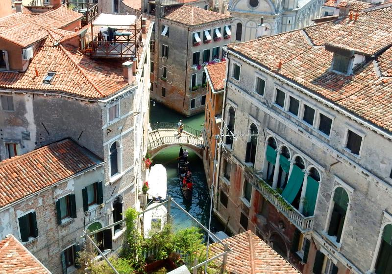 Amazing view from rooftop terrace. - Perfect Big Beautiful Terrace Central AC Dorato - Venice - rentals