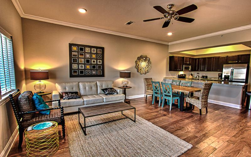Living room view - ALERIO A304 - Miramar Beach - rentals