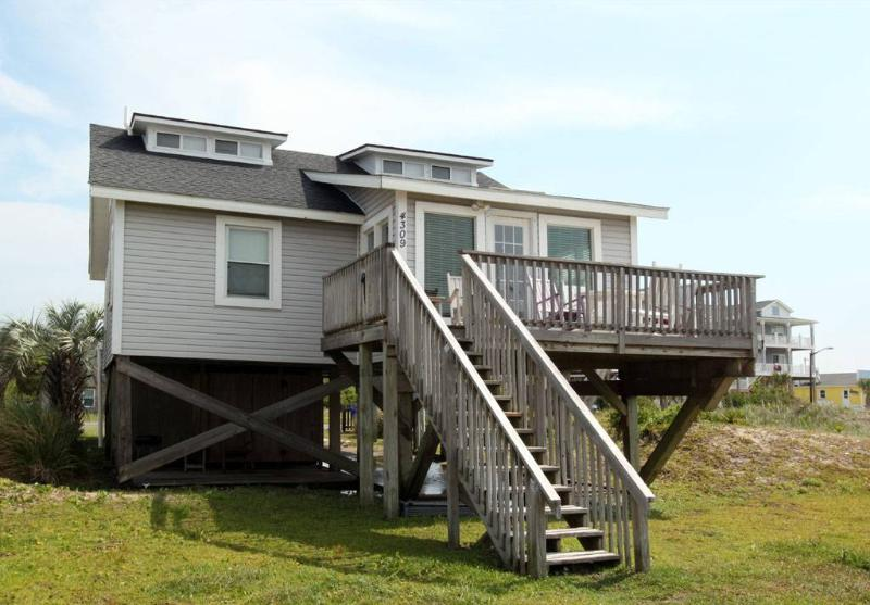 C Turtle 4309 East Beach Drive - Image 1 - Oak Island - rentals