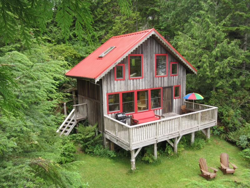 The Home - Ocean Dream is a Waterfront 1 bedroom cottage - Tofino - rentals