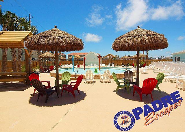 Poolside cabanas - Beautiful New 5 Star Townhouse at the Exclusive Nemo Cay Resort! - Corpus Christi - rentals
