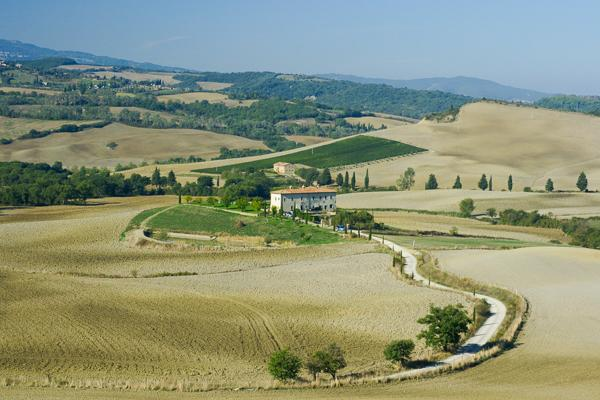 Tuscan country home in the Val D'Orcia area. YPI RAN - Image 1 - Tuscany - rentals