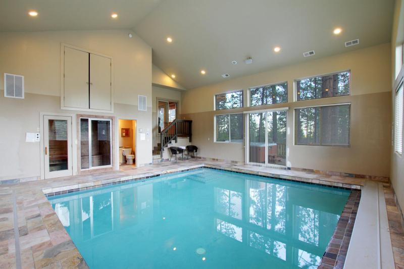 Indoor Pool, Hot Tub, Sauna, Steam Room & Home Theater - Heavenly, Pool, Big Screen, Hot Tub/Sauna/Steam Rm - South Lake Tahoe - rentals