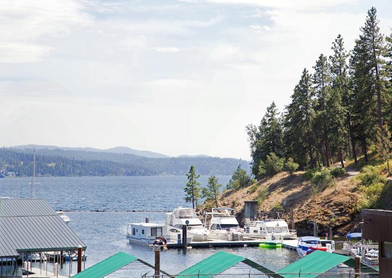View from front windows of the Cottage - Downtown Cottage with Lake and Park Views - Coeur d'Alene - rentals
