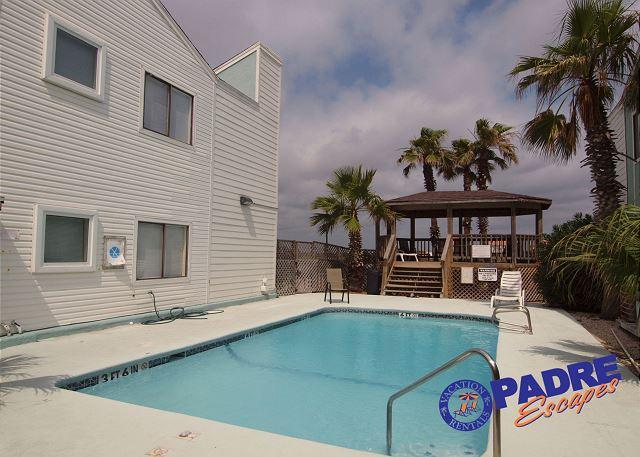 Pool and Gazebo - Cozy Condo close to the Beach - Corpus Christi - rentals