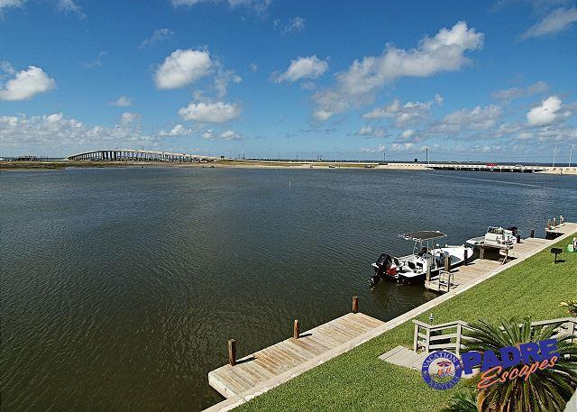 Balcony view - Waterfront Condo with a great view of the Laguna Madre! - Corpus Christi - rentals