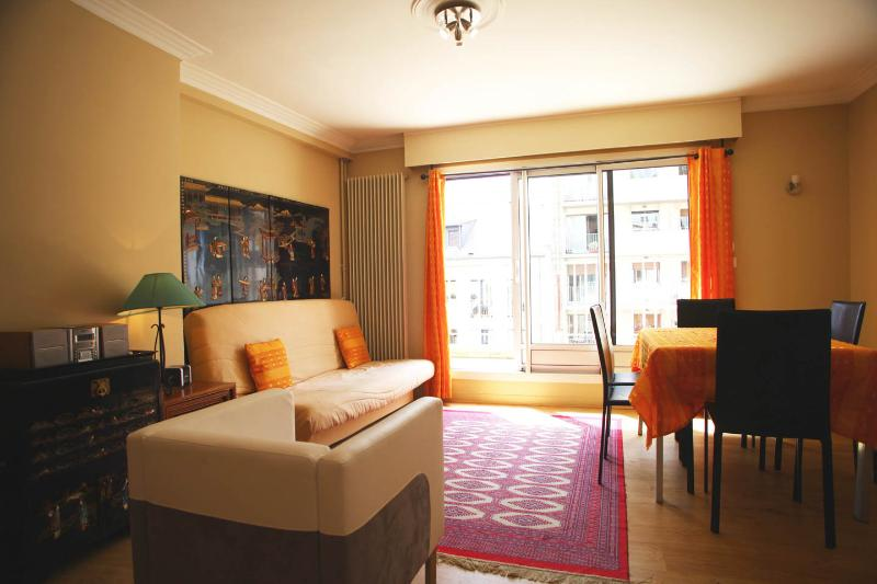 Large sunny Living Room - Beautiful Residence downtown Paris 7th District - Paris - rentals