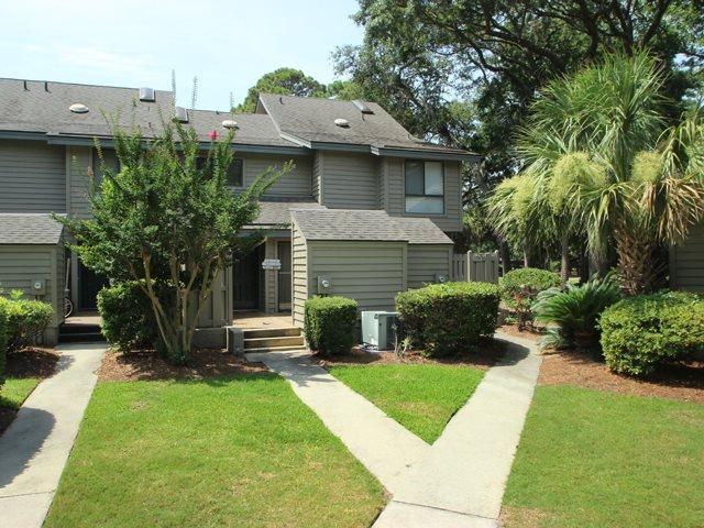 Front of villa - Greens, 180 - Hilton Head - rentals
