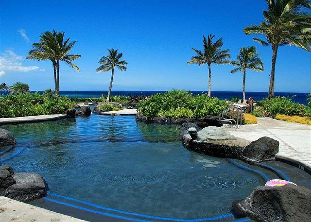 Ocean Club Pool. - Ocean View Luxury Property! MARCH SPECIAL $289.00 a night. - Waikoloa - rentals
