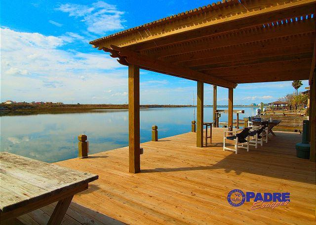 Recently renovated dock - Enjoy great Fishing off the dock while being just steps off the Beach! - Corpus Christi - rentals