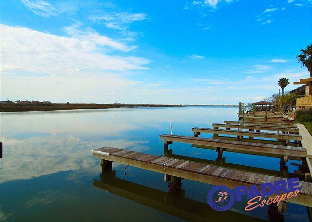 Boat slips - Enjoy great Fishing off your back porch while being just steps off the Beach! - Corpus Christi - rentals