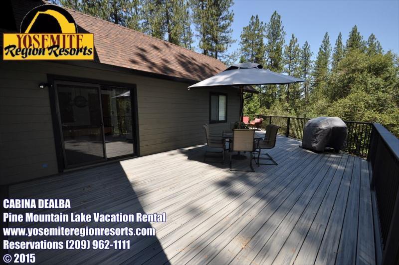 2-157 Cabina DeAlba. Sweet Rustic but Modern Mountain Cabin 25-mile > Yosemite, Hwy 120 corridor. - Sweet Cabin PoolTable Internet 25m> Yosemite - Groveland - rentals