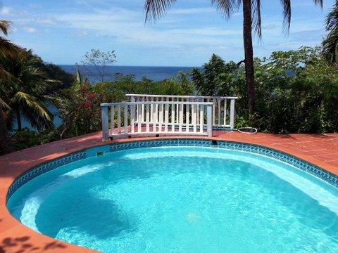 Refresh, relax and watch fabulous sunsets - Fabulous views of Marigot Bay - Marigot Bay - rentals