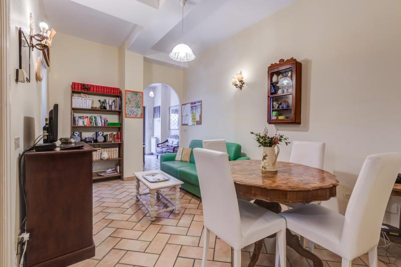 living room - Casa Glorioso, a charming apartment in Trastevere - Rome - rentals